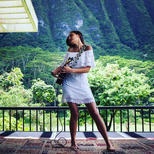 Taimane Gardner performs an evening of ukulele virtuosity May 17 at the Admiral Theatre.