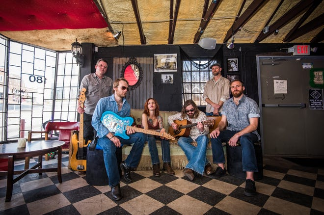 """The Casey Kristofferson Band released their debut album """"Dirty Feet"""" on April 26, when they performed at Merlefest."""