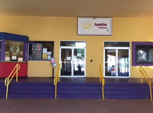 It was all quiet at the Satellite Cinemas on Sunday, with people walking away disappointed it was closed on Mother's Day.