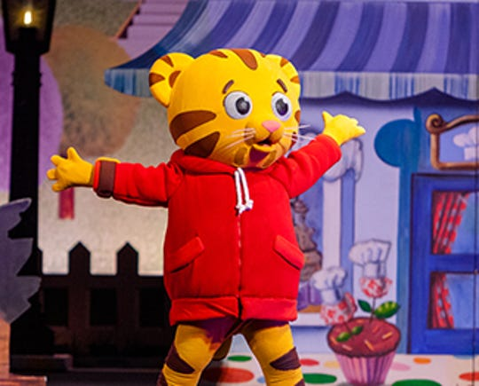 """""""Daniel Tiger's Neighborhood"""" brings its musical """"King for a Day"""" to the Flynn Center on May 16."""