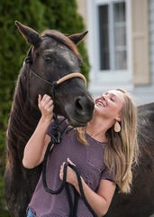 Huntington's Callie Ward's love of animals is the building block for her desire to pursue a degree in communications at Shawnee State University and to eventually work in advertising for a publication focused on the horse industry.
