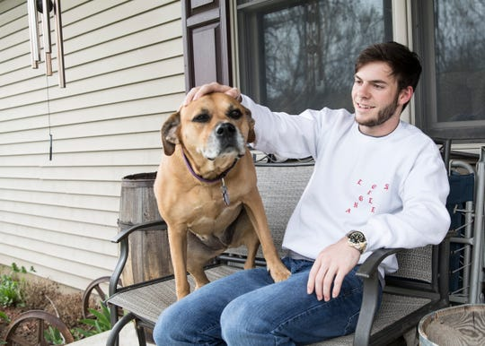 Despite a concussion, broken collar bone, skull reconstruction surgery, and missing much of his sophomore year of school, Southeastern's Lucas Meininger never let anything get in his way to graduating and becoming one of the top students in his class.
