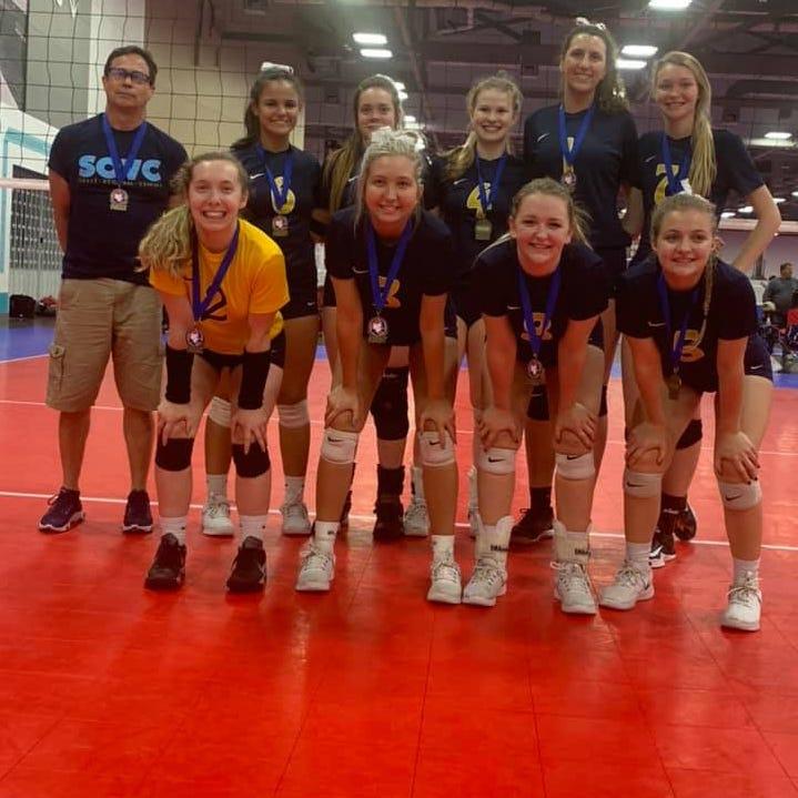 Local club volleyball team wins Ohio Valley Region Club Volleyball championship