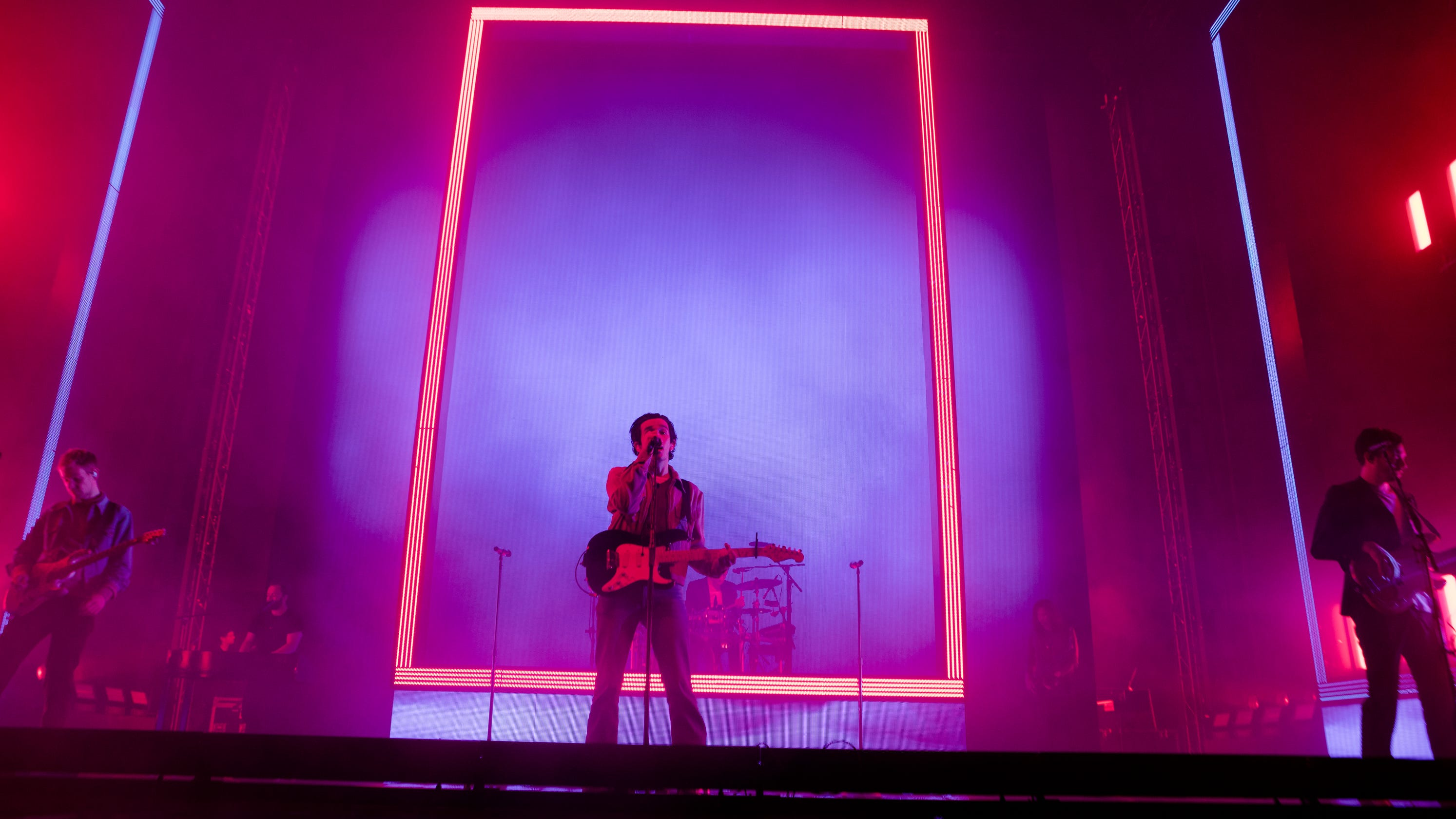 The 1975 tour review: It's glitzy pop but don't call it