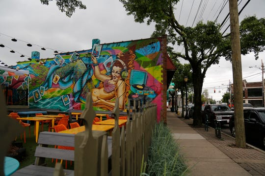 Cafe Figueroa and Everybody's Records in the Pleasant Ridge neighborhood of Cincinnati on Monday, May 13, 2019. Pleasant Ridge continues to see growth behind the opening of new restaurants and small businesses.