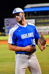 Drew Rom can look back on his time as a Highlands Bluebirds baseball player and know that he was noted as part of the 2018 KHSAA state all tournament team, June 16, 2018.