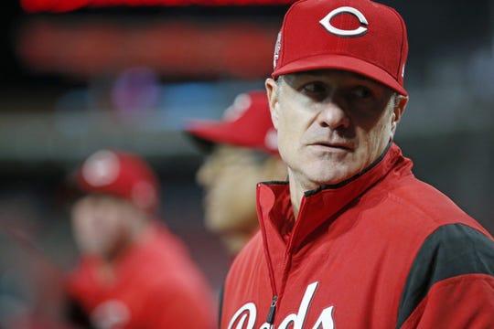 Cincinnati Reds manager David Bell.