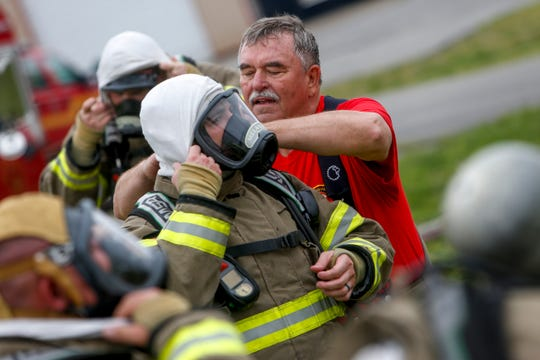Retiring Clarksville Fire Chief Joins Rookies For Their