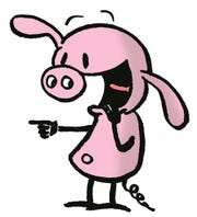 "Pig, from ""Pearls Before Swine"""