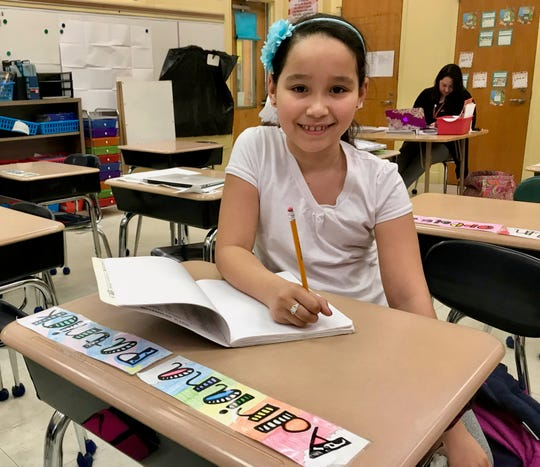 "Adriana Fernandez, a student at School No. 5 in Linden, beat all other fourth-graders to win first place in the ""Young Writers of Union County"" poetry contest celebrating Arbor Day."