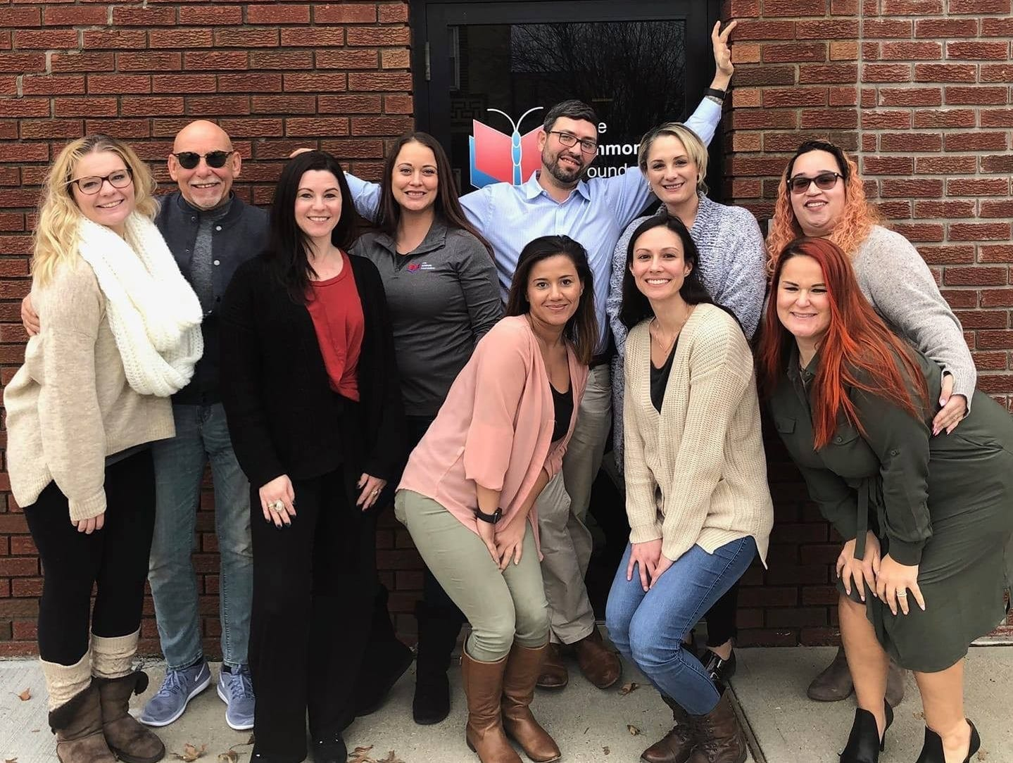 Having lived a life in addiction, Middlesex County's Cheyanne Curtin, 25, (left) is now living a life in recovery and is a lead Empowerment Coach with the Linden-based Ammon Foundation.