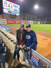 Life has been a lot easier for John and Rebecca Schreiber, who live in Rockwood, since John was called up to Triple-A Toledo.
