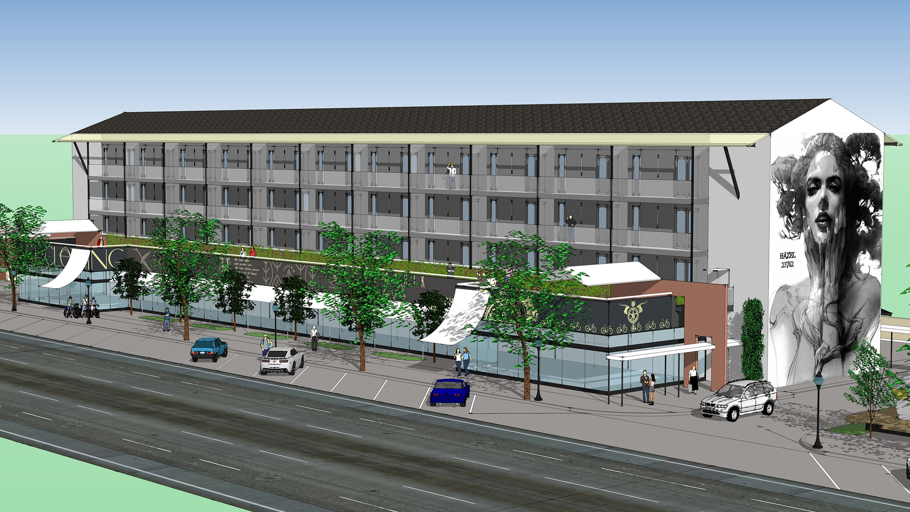 Hazel Park gets big boost in its vision for a walkable ...