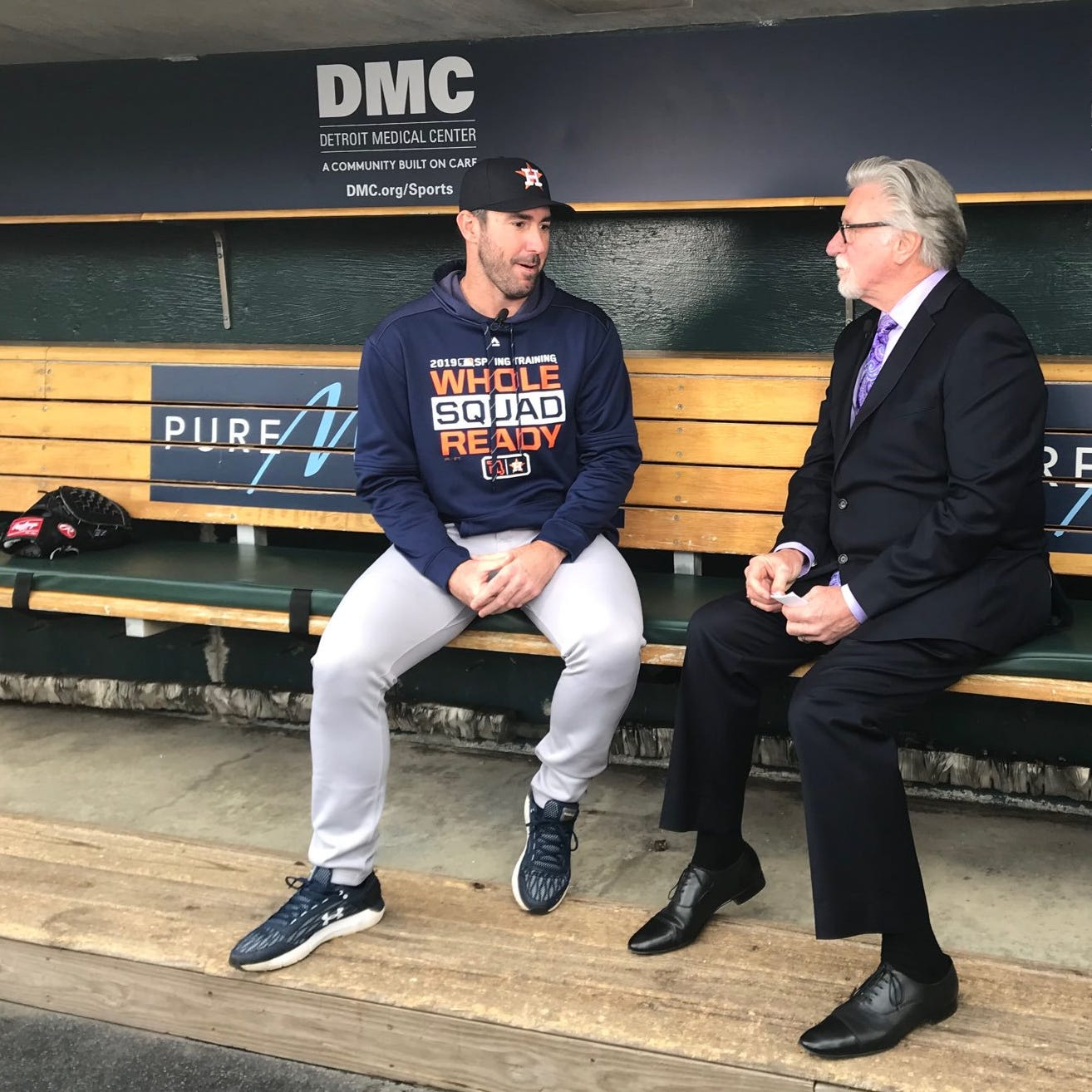 Justin Verlander explains why Detroit Tigers lost twice in World Series