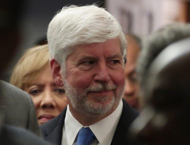Former Gov. Rick Snyder