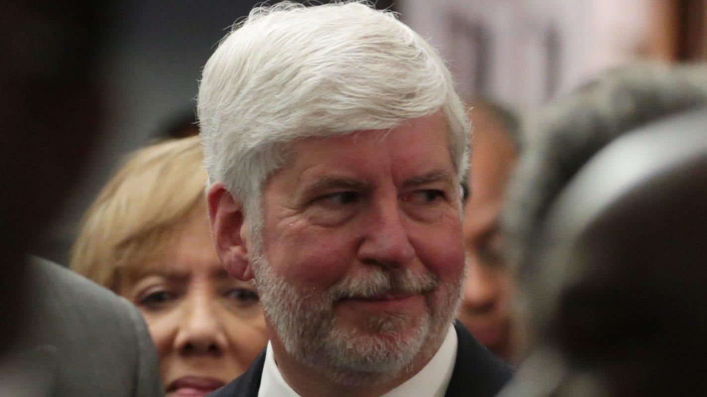 Harvard's appointment of former Gov. Rick Snyder sparks social media backlash