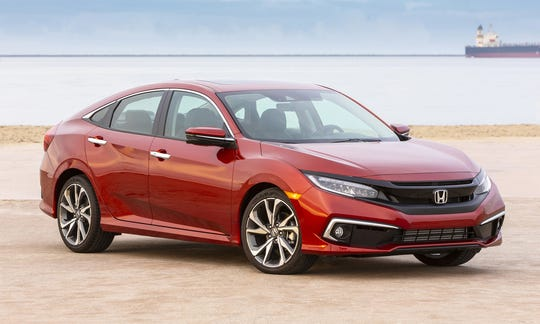 Honda has confirmed its Swindon Plant in western England, which employs 3,500 people, will close in 2021. The plant makes the popular Civic model, shown.