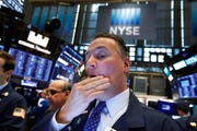 The Dow dove 617.38 points, or 2.4%, to 25,324.99. Earlier, it was down 719 points.