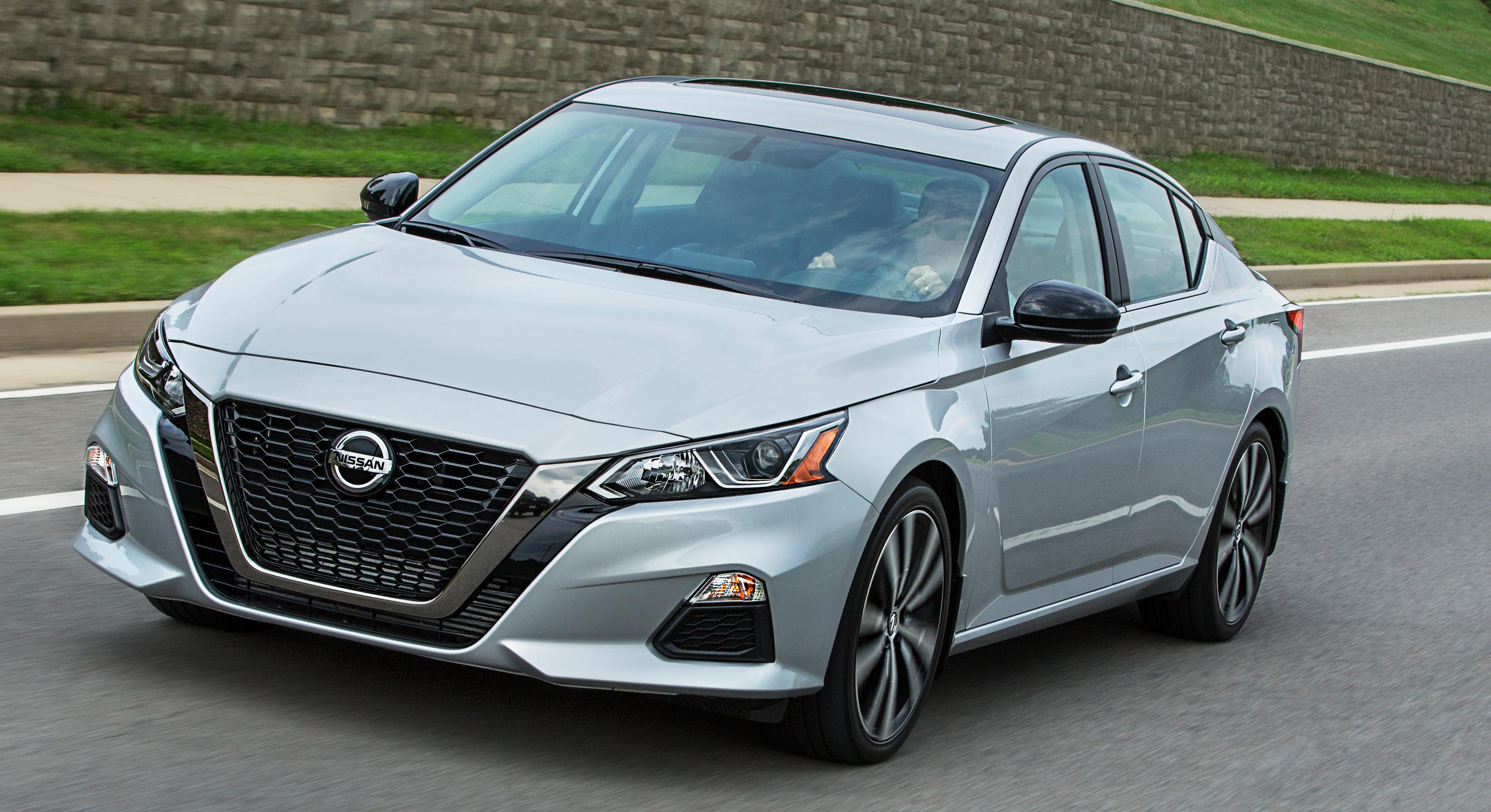 Nissan began offering all-wheel drive on its latest Altima sedan in the U.S. market in November. Since then, the company says more than 20% of buyers in the U.S. have opted for the $1,350 package.
