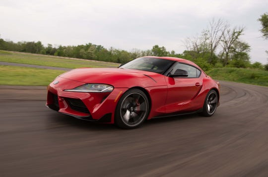 The 2020 Toyota Supra is a blast to drive fast. The neutral handling means the car changes directions quickly - and can be drifted at will.