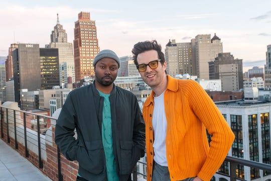 Hip-hop MC Jamall Bufford, left, and Mayer Hawthorne