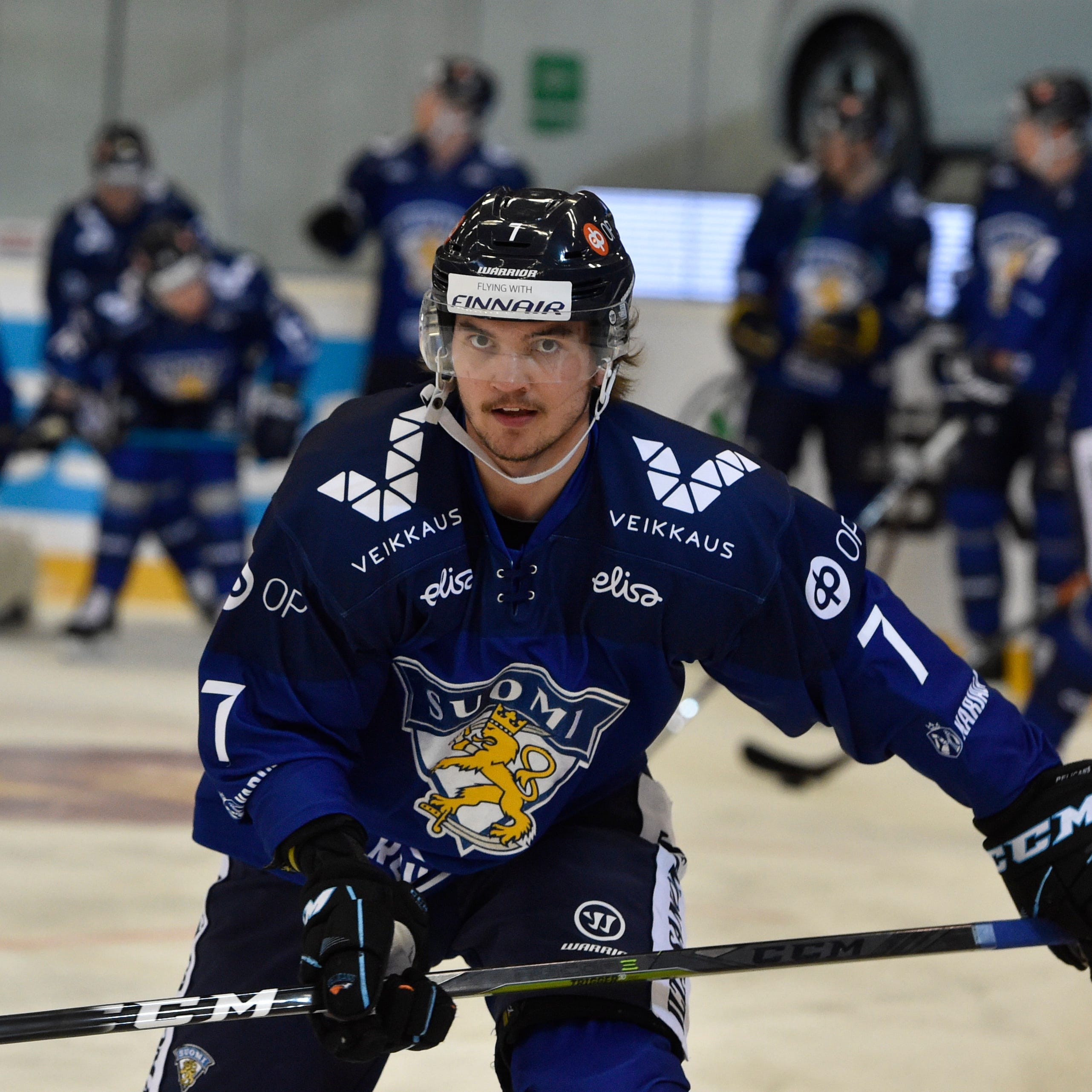 Red Wings to sign Finnish defenseman Oliwer Kaski
