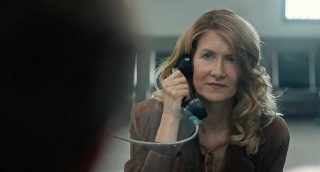 "Laura Dern in ""Trial by Fire."""