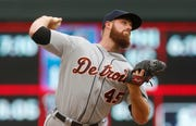 Detroit Tigers pitcher Buck Farmer has struck out 18 batters in his last 14.1 innings pitched.