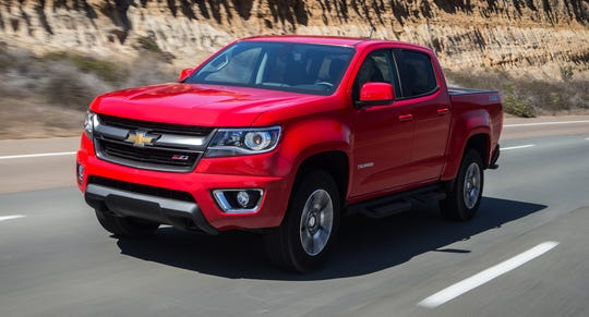 U.S. safety regulators are investigating whether General Motors went far enough when it recalled about 3,000 Chevrolet Colorado, shown, and GMC Canyon pickups from the 2015 model year in 2016.