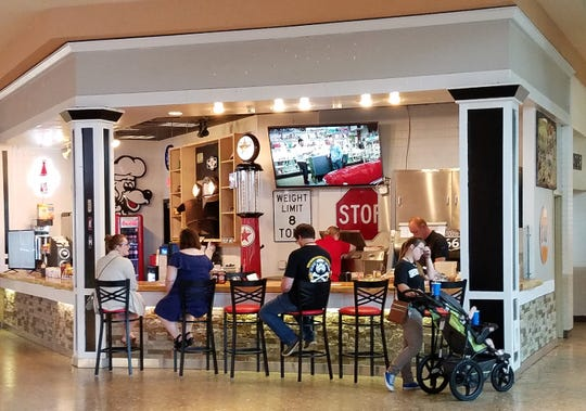 The new breakfast restaurant 6 a.m. is located in Eastland Mall at the entrance to the food court.