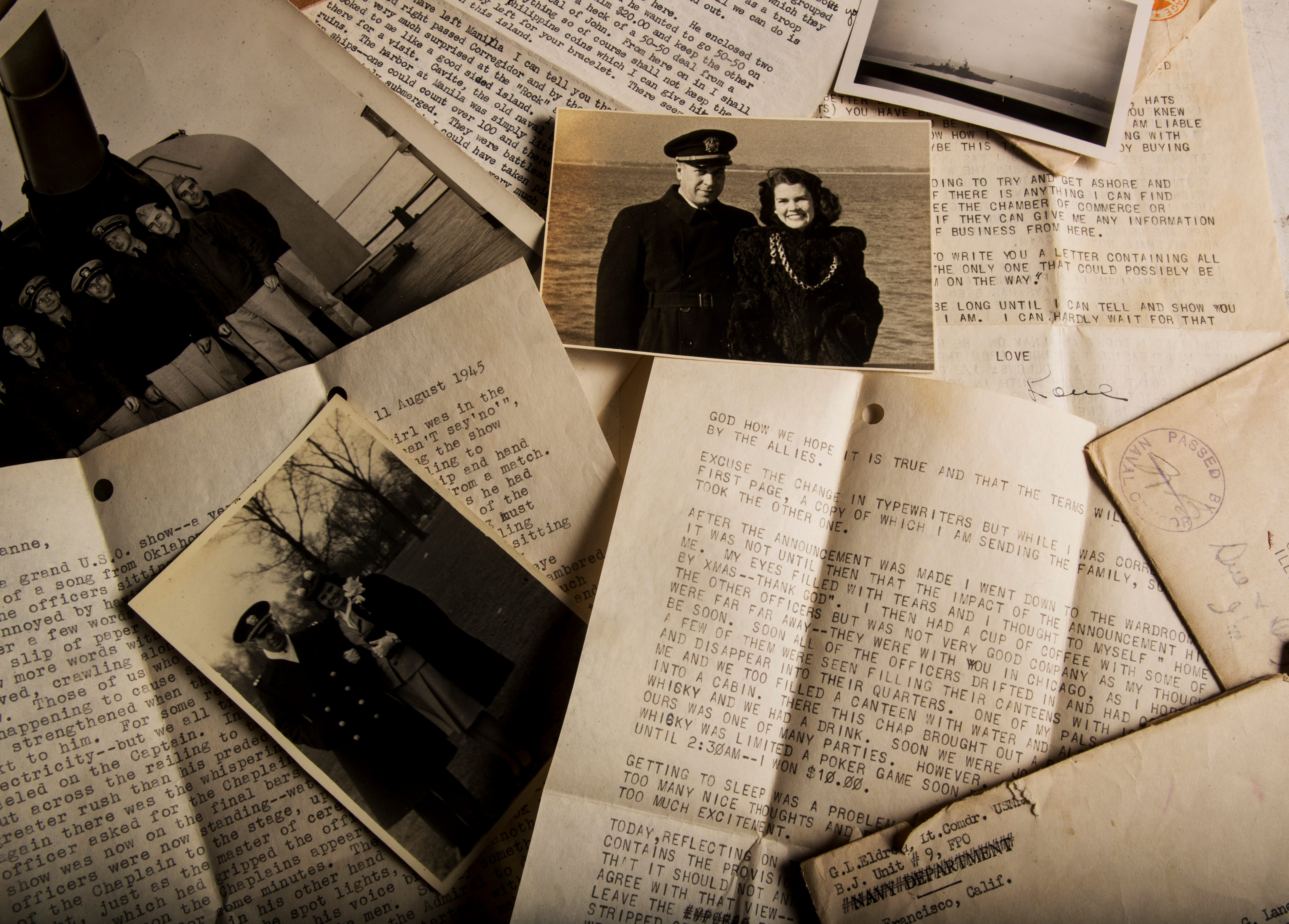 Love, Lane: D-Day and World War II letters from a Navy