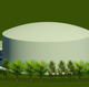 An aerial rendering of what a planned water tank on Treeline Avenue will look like.