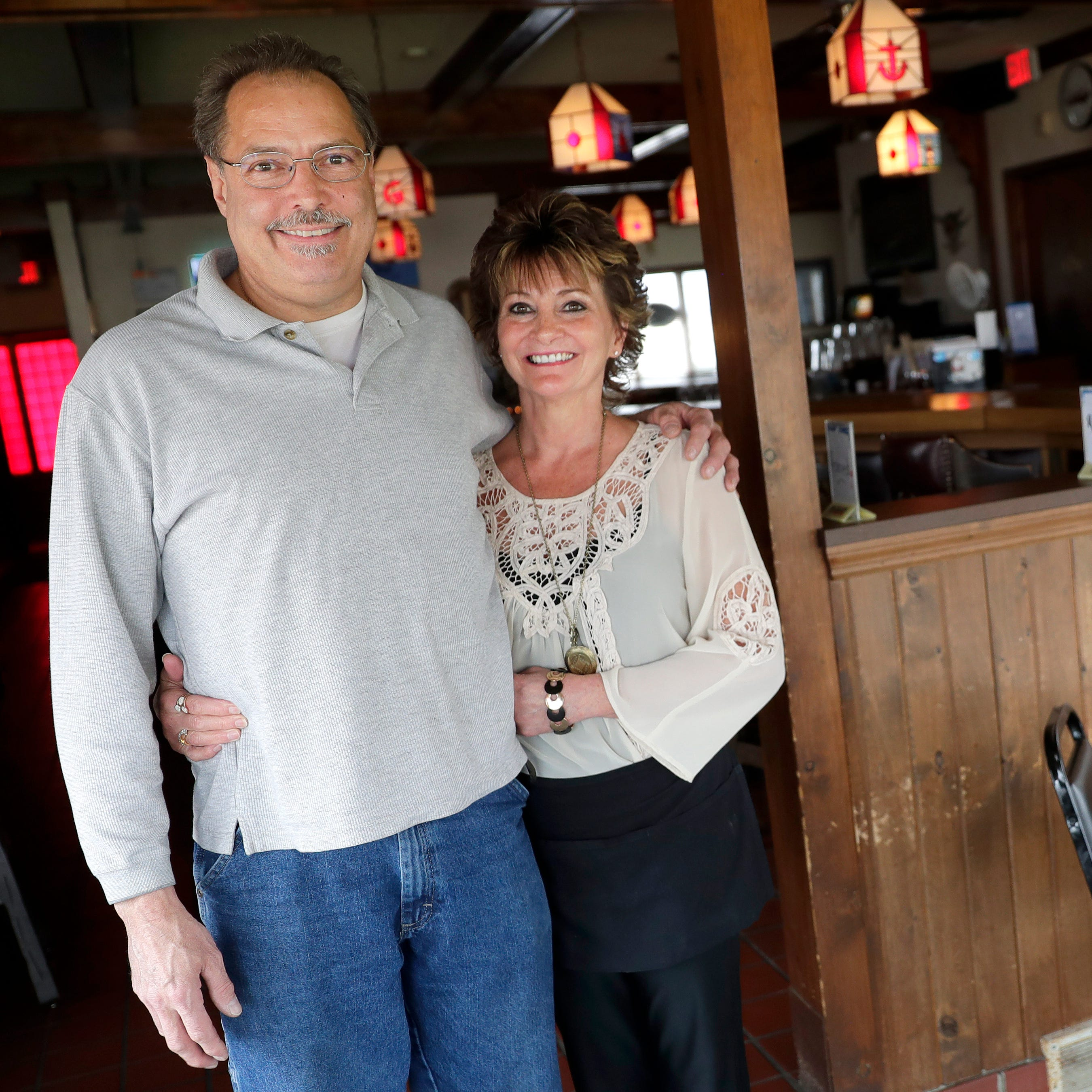 Gib's On The Lake supper club is popular for German food, Lake Michigan views