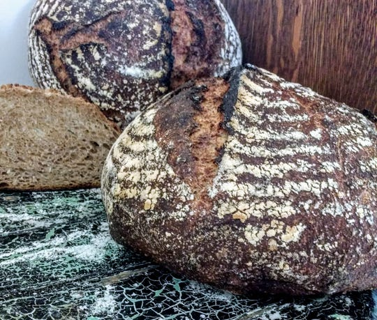 Bread made with Conservation Grains flour.