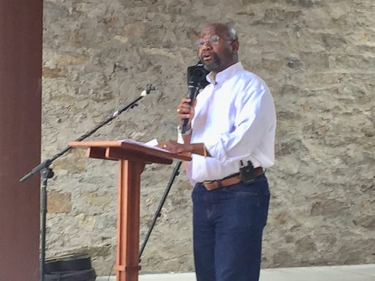 Helena Mayor Wilmot Collins announces Monday that he will run for the U.S. Senate seat in 2020 now held by GOP Sen. Steve Daines.