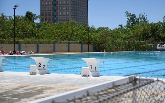 The Hagåtña pool on May 13, 2019.