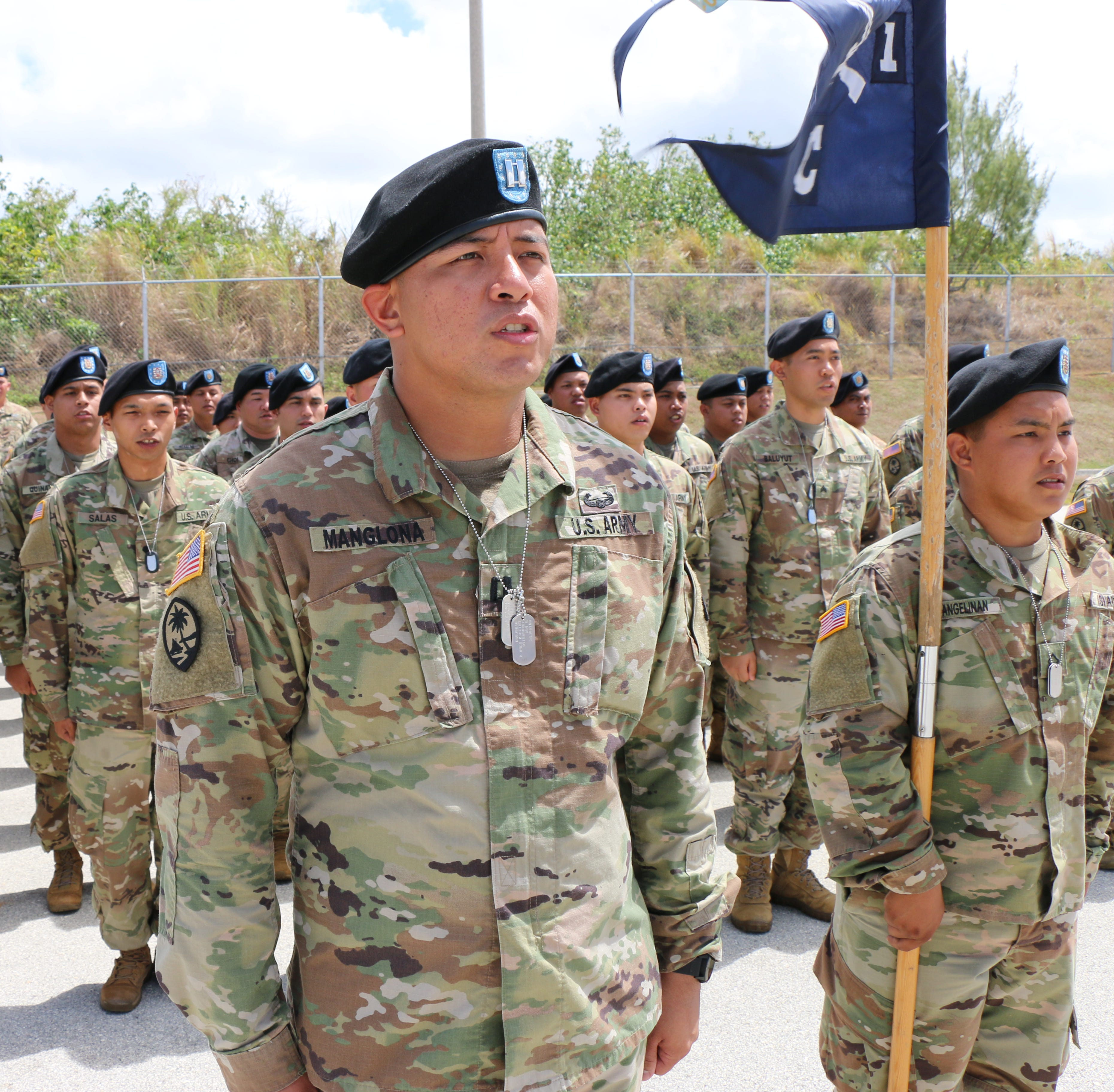 Soldiers from Guam National Guard leave for deployment