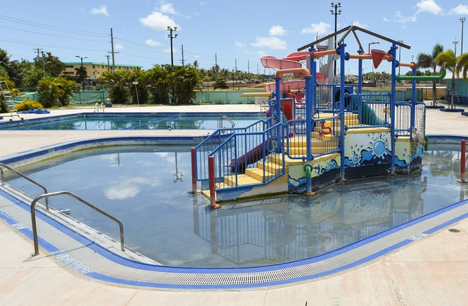 The Dededo pool at the Dededo Sports Complex on May 13, 2019.