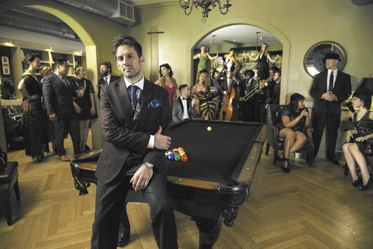 Pianist-arranger Scott Bradlee is the vision behind Postmodern Jukebox, which performs pop songs in period styles.