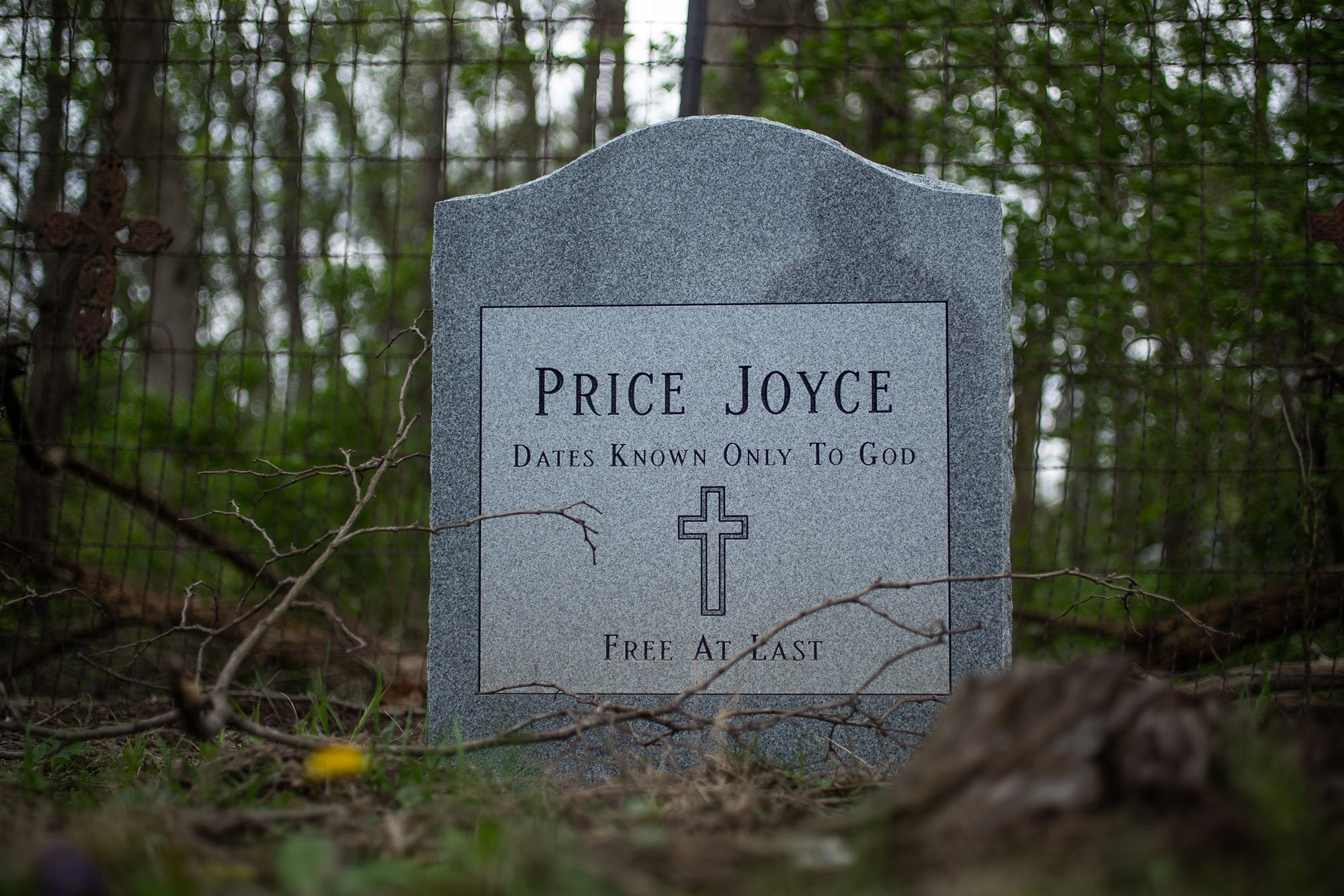 In a forgotten plot in an abandoned Indiana cemetery, a slave is 'freed' at last