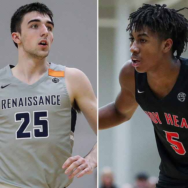 Purdue basketball 2020 commits Jaden Ivey, Ethan Morton beginning backcourt connection