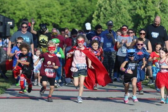 2018 Superhero Run.