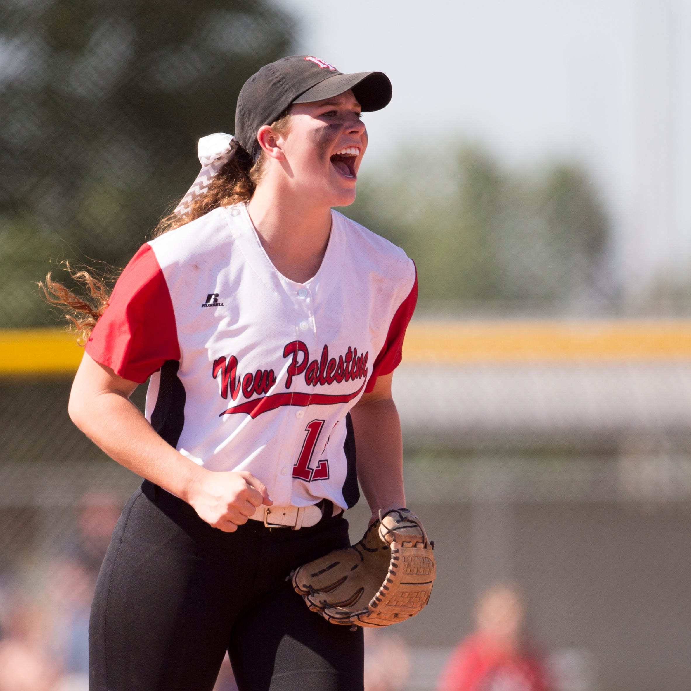 Emily O'Connor of New Palestine High School.