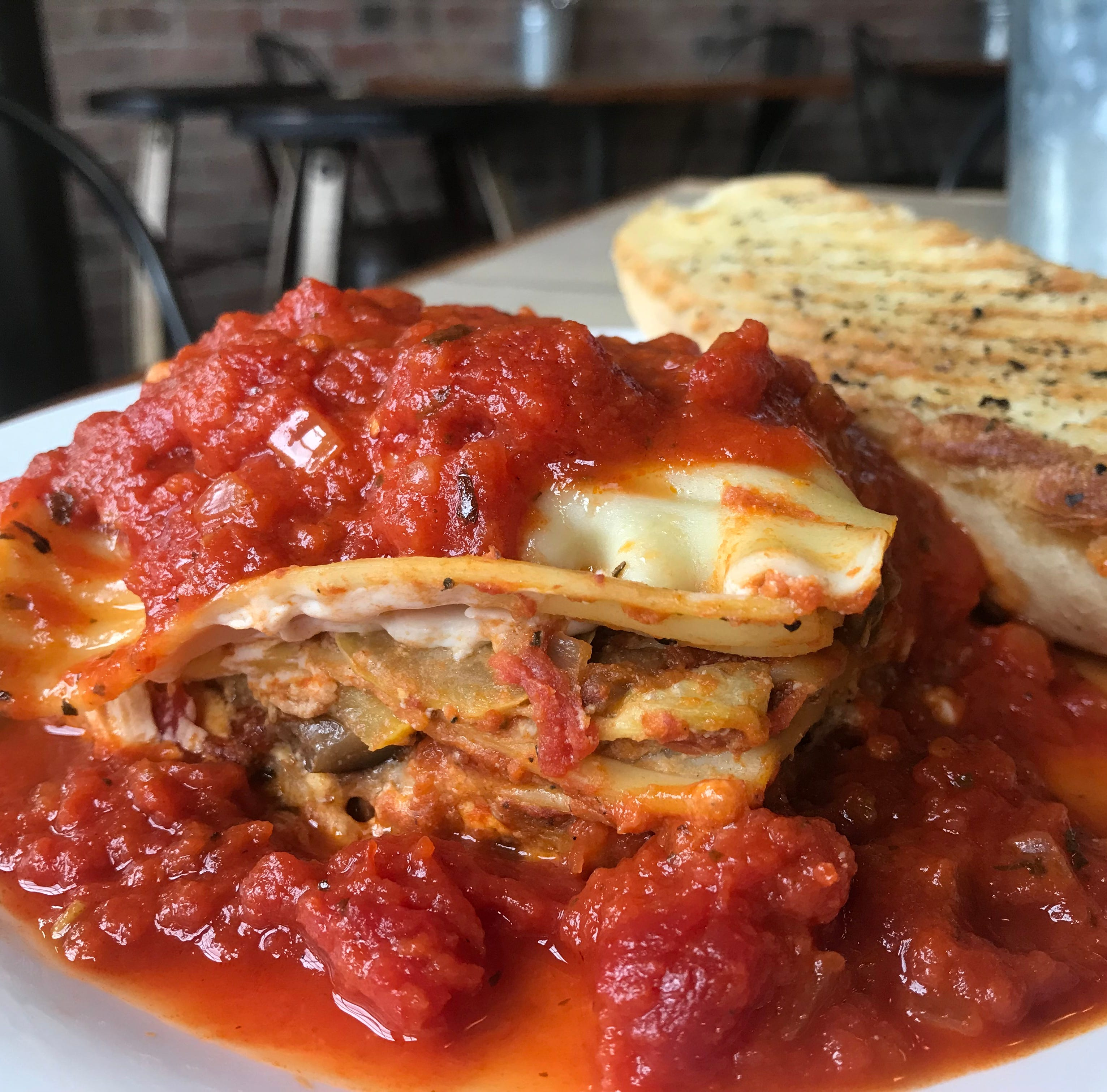 Indy's new vegan restaurant makes a lasagna that's so worth the carbs