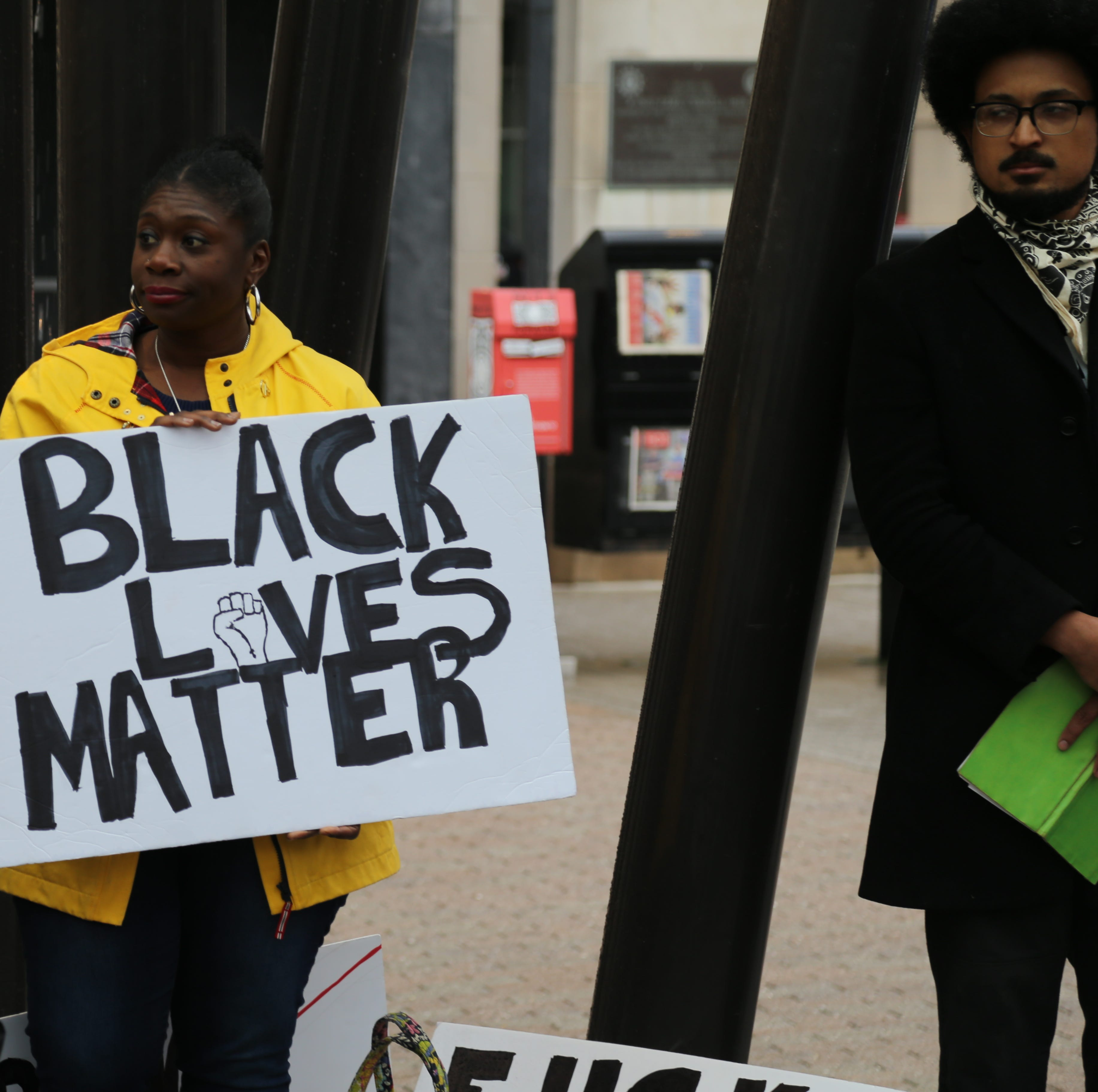 Black Lives Matter Ithaca holds rally following Commons arrests