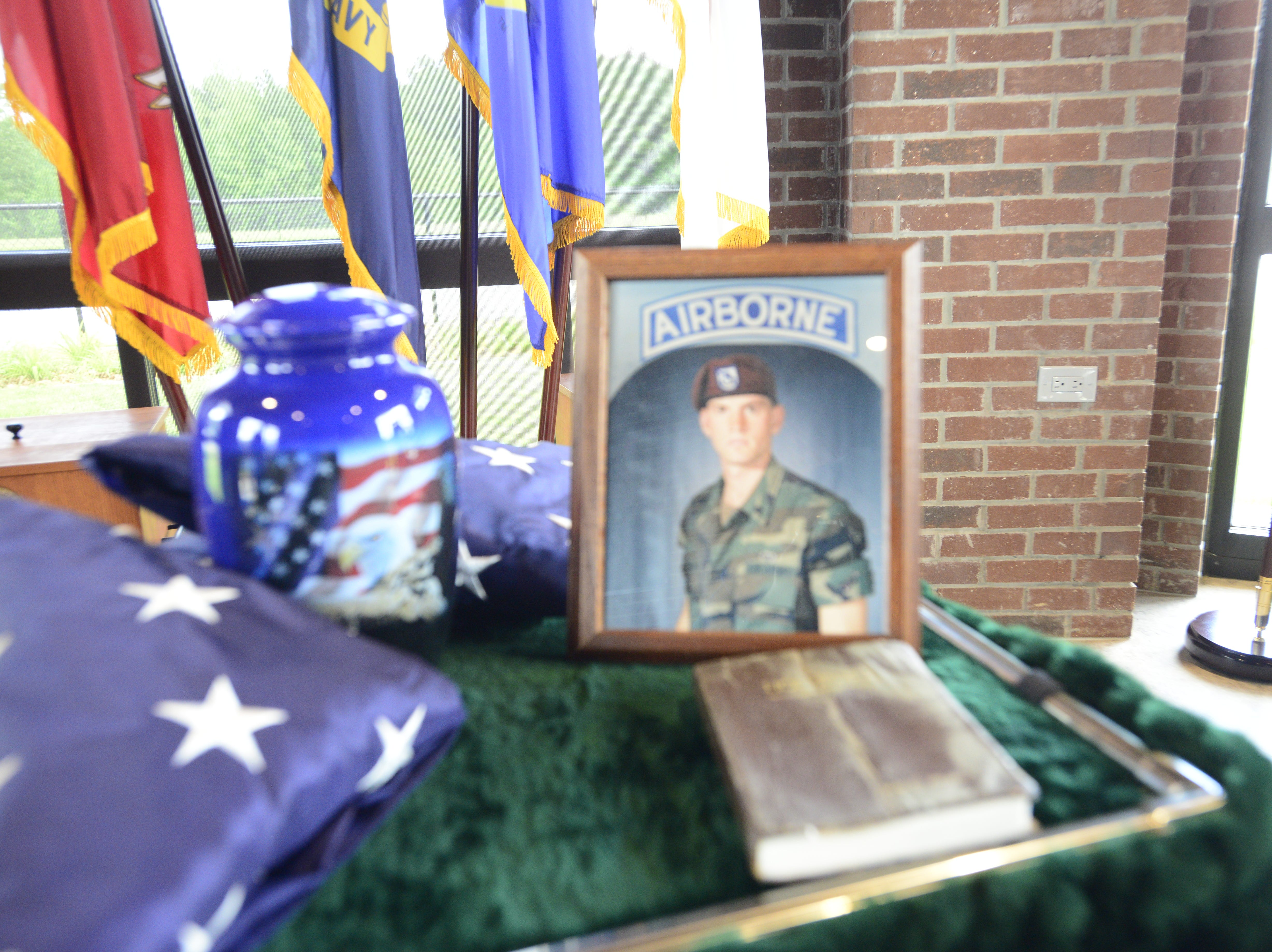 Robert Martin, a veteran who served in the U.S. Army 82nd Airborne unit and as a Memphis police officer, died May 2 at 47 years old. His funeral services were Monday at the Veteran Cemetery at Parkers Crossroads.