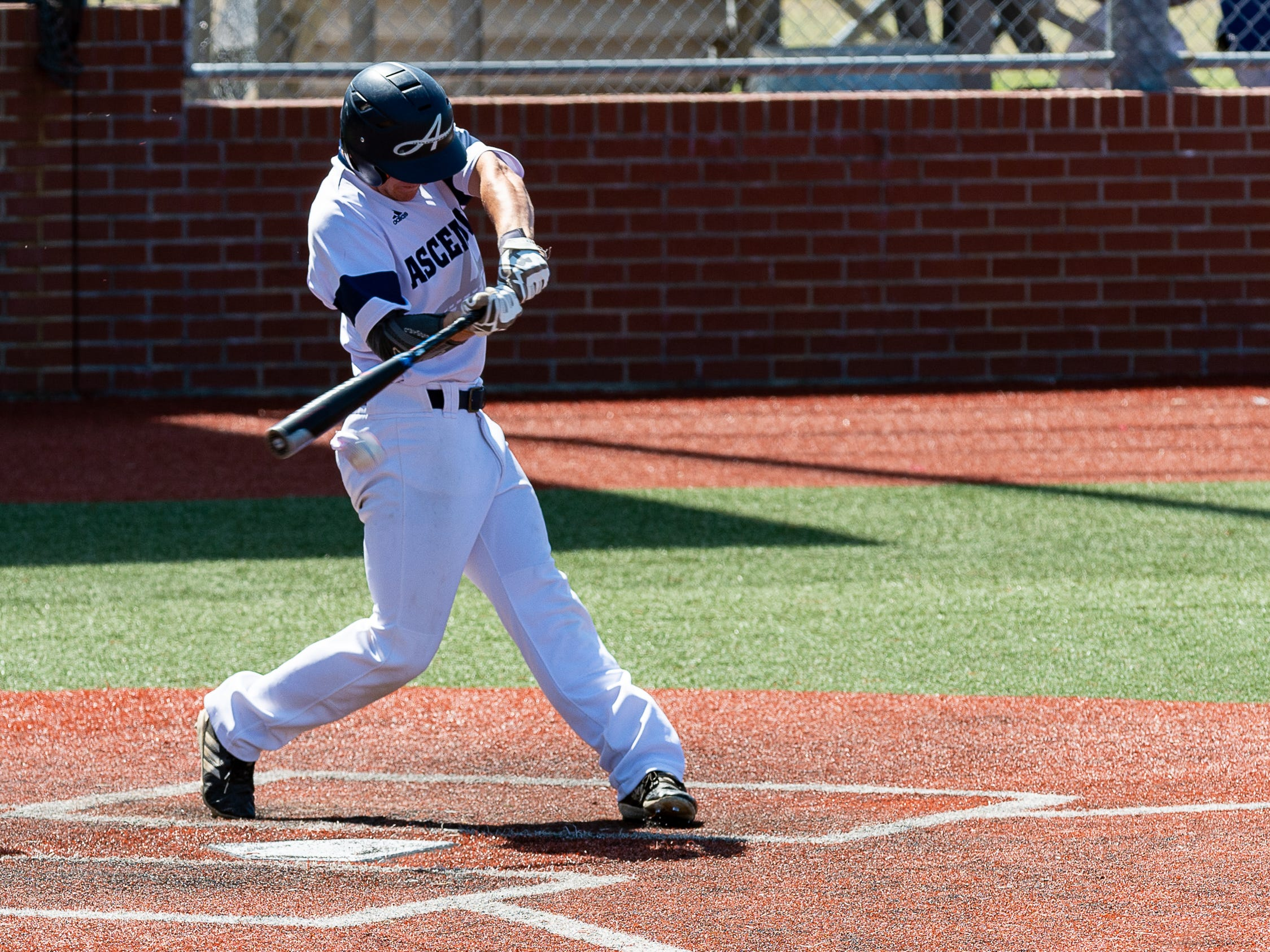 Blaine Blanchard at the plate as Ascension Episcopal falls to Calvary Baptist Championship round at the LHSAA State Tournament. Monday, May 13, 2019.