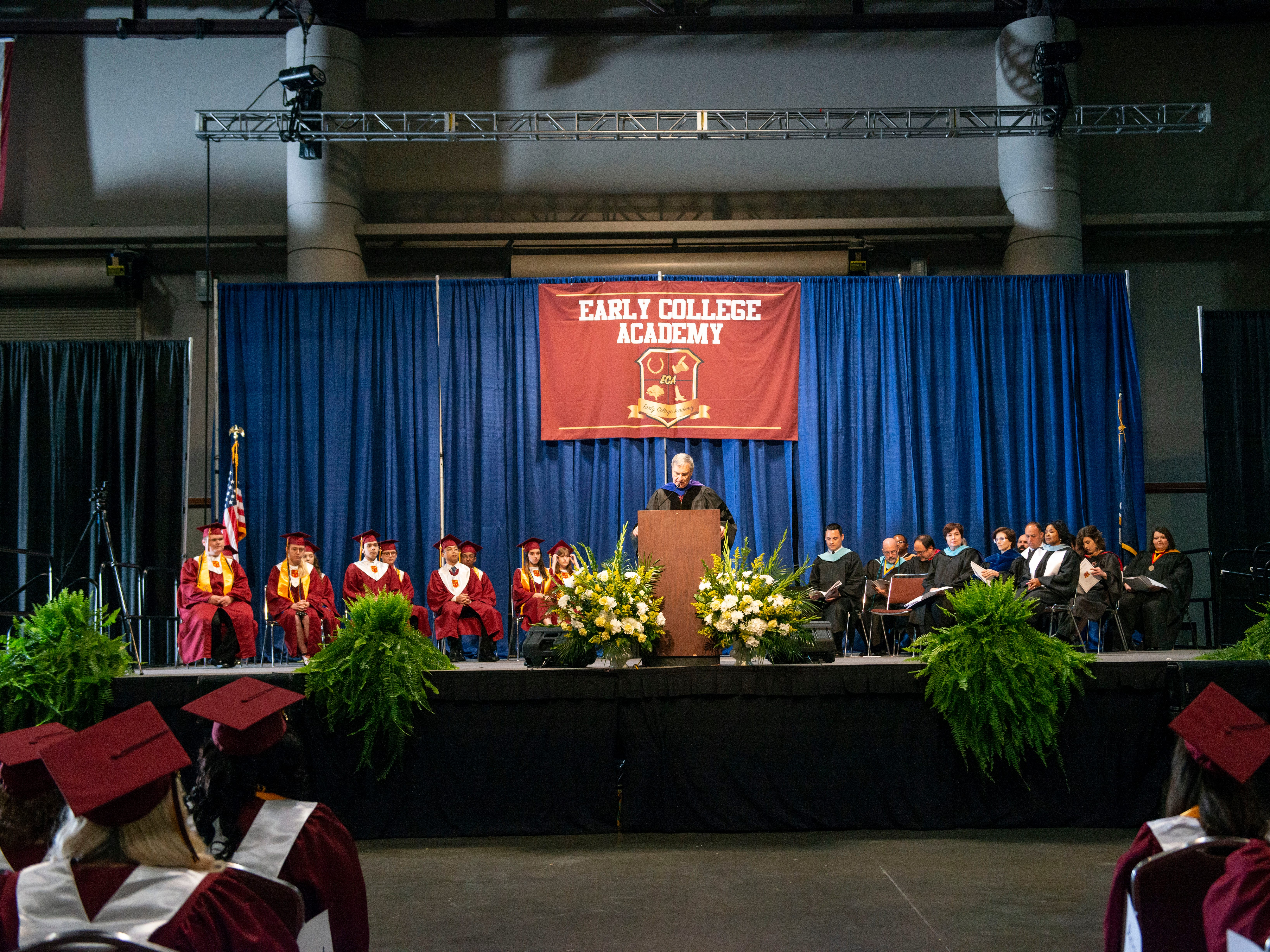 Early College Academy, a Lafayette Parish School System magnet high school, graduated 57 seniors May 9 at the Cajundome Convention Center. They also earned associate degrees from South Louisiana Community College.