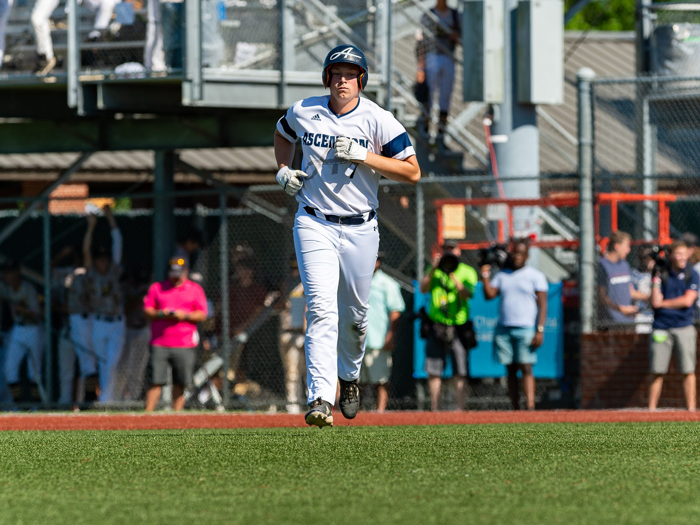 Drake Lee as Ascension Episcopal falls to Calvary Baptist Championship round at the LHSAA State Tournament. Monday, May 13, 2019.