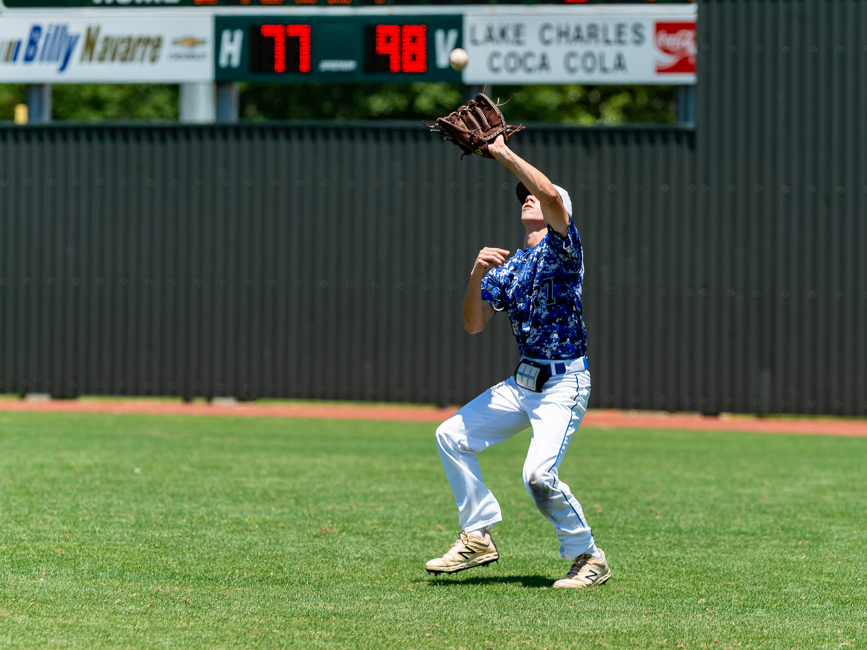 Northside Christian takes on Runnels in the LHSAA State Championship Tournament. Monday, May 13, 2019.